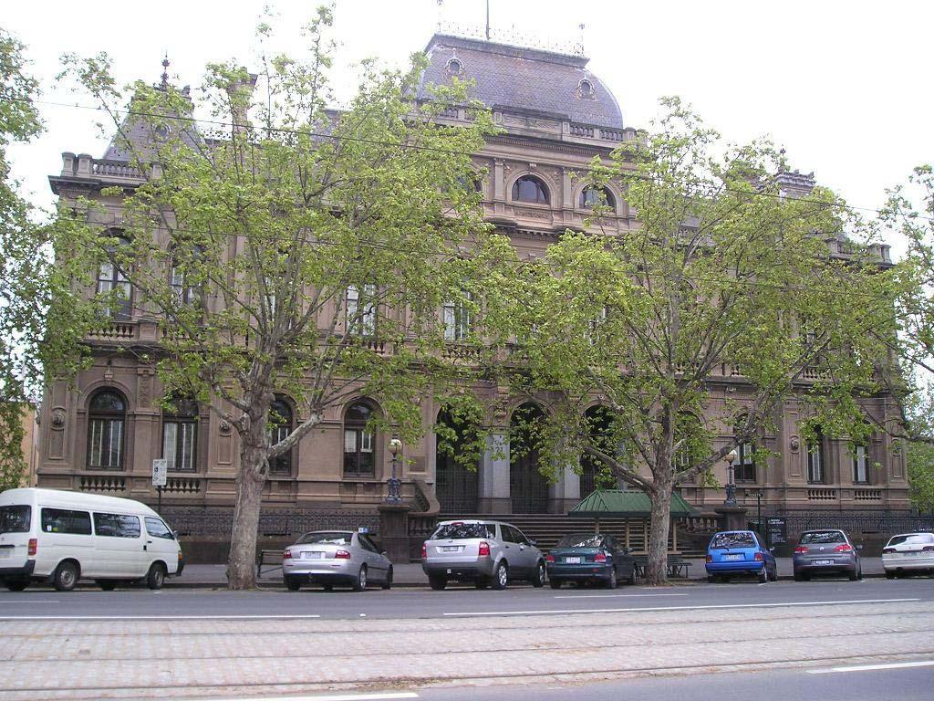 Bendigo Law Courts building
