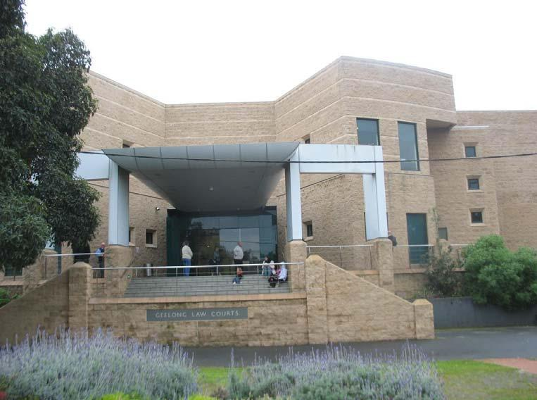 Geelong County Court Of Victoria
