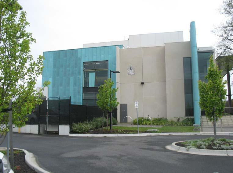 Latrobe Valley Law Courts building