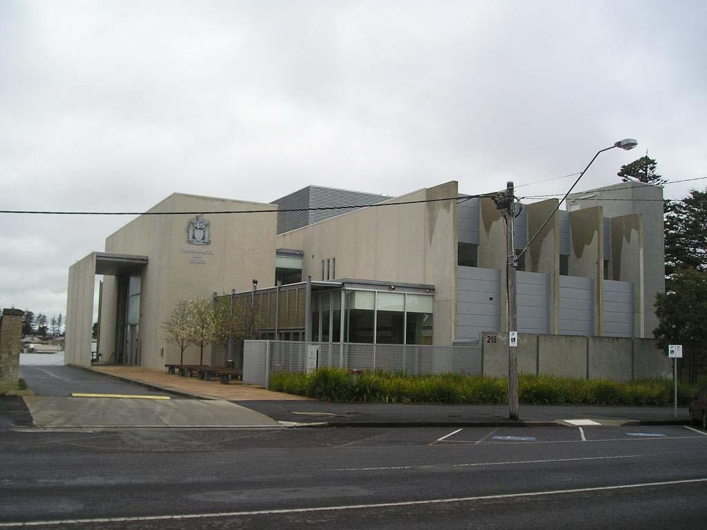 Warrnambool Law Courts building